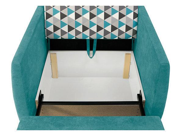 Dīvāns Ola II 1FBK, zils
