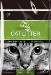 Bentonīta kaķu pakaiši ar ābolu aromātu Tiger Pet, 5 l