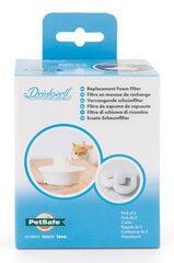 Nomaināmi putu filtri Drinkwell dzirdinātavai (2 gab.) cena un informācija | Bļodas, kastes pārtikas | 220.lv