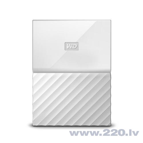 Western Digital My Passport 2.5'' 2GB USB3.1 Balts