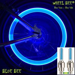 Riteņu lukturi Wheel Bee® LED Cycle Bee, zili