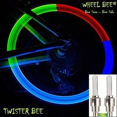 Riteņu lukturi Wheel Bee® LED Cycle Bee Twister