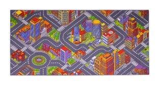 Vaikiškas kilimas Big City, 95x200 cm cena un informācija | Paklāji | 220.lv