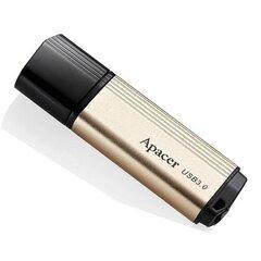 USB zibatmiņa Apacer USB 3.0, 16 GB, AH353, ar vāciņu, zeltaina cena un informācija | USB Atmiņas kartes | 220.lv