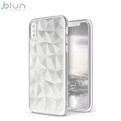 Telefona vāciņš Blun 3D Prism Shape, piemērots XiaomiRedmi Note 4 / 4X telefonam, balts