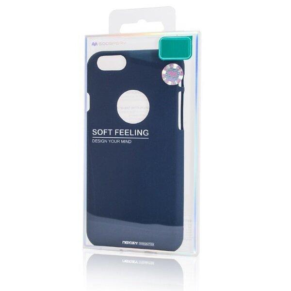 Aizsargvāciņš Mercury Soft feeling, piemērots Huawei P20telefonam, zils lētāk