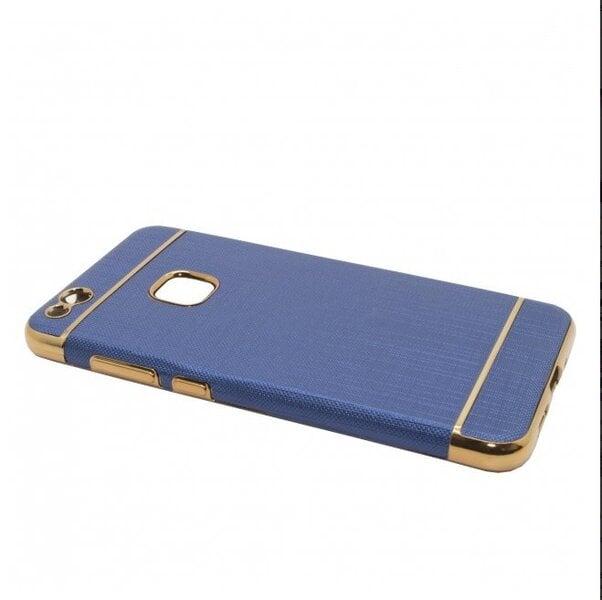 Telefona aizmugurējais apvalks Mocco Exclusive Crown, paredzēts Samsung G935 Galaxy S7, tumši zils cena