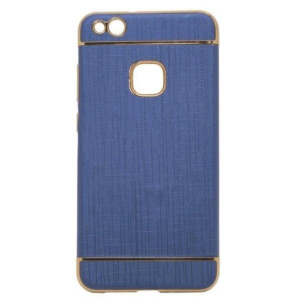 Telefona aizmugurējais apvalks Mocco Exclusive Crown, paredzēts Samsung G935 Galaxy S7 Edge, tumši zils