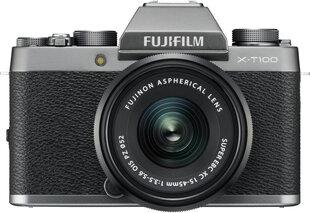Fujifilm X-T100 + 15-45mm PZ komplekts, pelēks
