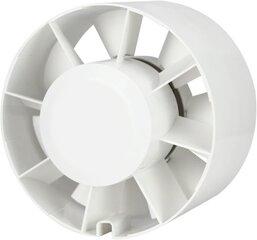 Kanāla ventilators Europlast E-EXTRA EK125, Ø125 mm cena un informācija | Ventilatori vannas istabai | 220.lv