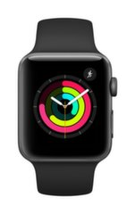Apple Watch S3 ,GPS, 42mm, Pelēks cena un informācija | Apple Watch S3 ,GPS, 42mm, Pelēks | 220.lv