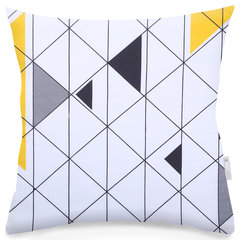 DecoKing dekoratīvo spilvenu pārvalks Ducato Collection Geometric, 2 gab.