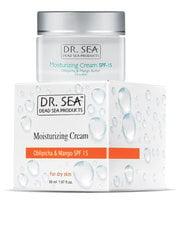 Увлажняющий крем для сухой кожи лица Dr. Sea Moisturizing SPF15 50 мл
