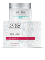 Sejas pretgrumbu krēms Dr. Sea Anti-Wrinkle SPF15 50 ml
