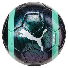 Futbola bumba Puma One Chrome, melna un zaļa cena un informācija | Futbols | 220.lv