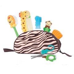 Bērna kopšanas komplekts ērtā somiņā Sassy Safari, 5 gab.