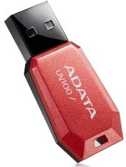 USB Карта памяти A-DATA DashDrive UV100 8GB Red (Красная) USB цена и информация | USB карты памяти | 220.lv