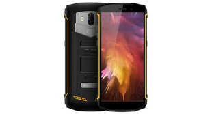 Blackview BV5800 Pro, 2/16GB, LTE, Dual, Dzeltens