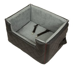 Amibelle Guļvieta-krēsls Lux, melns M, 47 x 40 x 25 cm