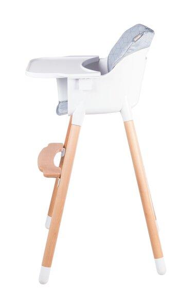 Barošanas krēsli Lionelo Koen 2in1, pelēks