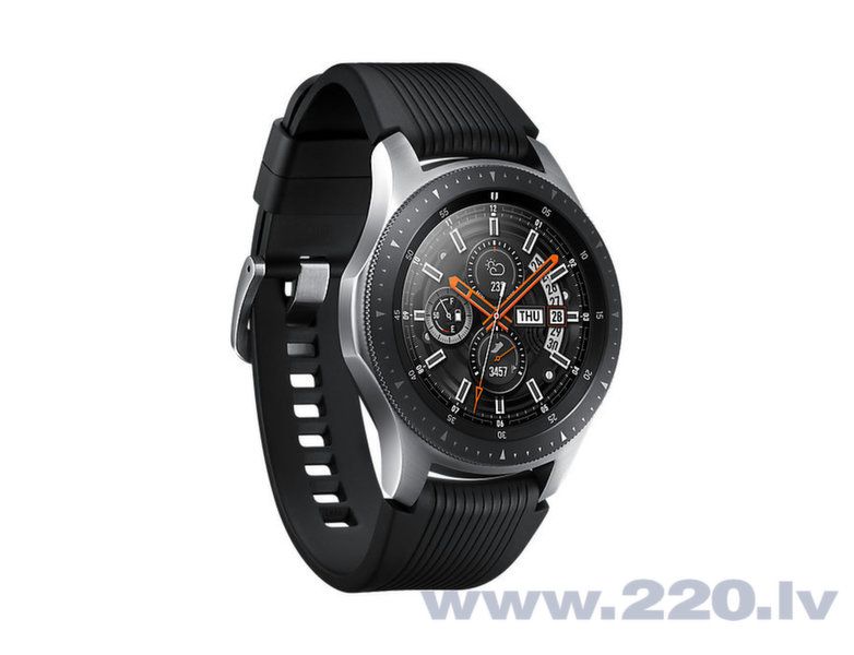 Samsung Galaxy Watch 46mm BT, Sudrabains cena