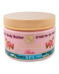 Солевой скраб для тела Health & Beauty Rose 450 г цена и информация | Скрабы для тела | 220.lv