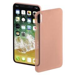 Aizsargmaciņš Hama Ultra Slim priekš iPhone X, rozā
