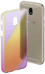 Aizsargmaciņš Hama Mirror priekš Samsung Galaxy J5, dzeltena rozā