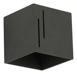 Lampex sienas lampa Quado MODERN B Black