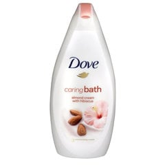 Vannas putas Dove Almond & Hisbiscus 500 ml