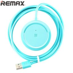 Remax RU-05 Inspiron USB Hub 2.0 3 Port Hi Speed Mini Splitter 1.5m Cable Blue