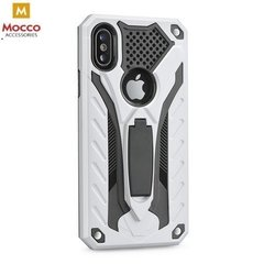 Mocco Phantom Super Protection Back Case Cover with stand for Samsung G960 Galaxy S9 Silver