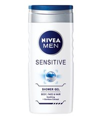 Dušas želeja-šampūns Nivea Men Sensitive 500 ml