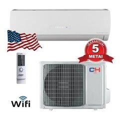 Gaisa kondicionieris/gaisa siltumsūknis Cooper&Hunter Icy inverter CH-S09FTXTB2S-W (-30°C) cena un informācija | Gaisa kondicionieri, siltumsūkņi, rekuperatori | 220.lv