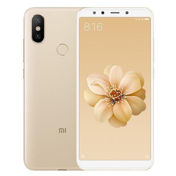 Xiaomi Mi A2, 64 GB, Zelta
