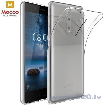 Mocco Ultra Back Case 0.3 mm Silicone Case for Xiaomi Redmi 6A Transparent