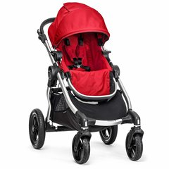 Sporta ratiņi Baby Jogger City Select, sarkani