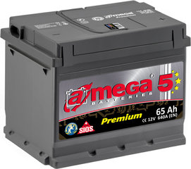 Akumulators A-MEGA Premium 65Ah 640A cena un informācija | Akumulatori | 220.lv