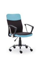 Biroja krēsls Topic, melns/zils