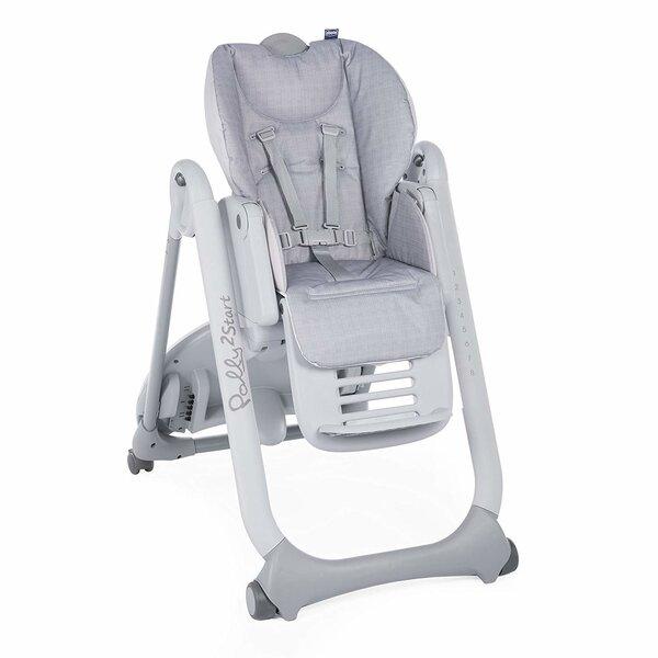 Barošanas krēsls Chicco Polly 2 Start, pelēks