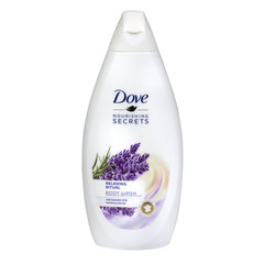 Dušas želeja Dove Nourishing Secrets Lavender Oil & Rosemary Extract 500 ml