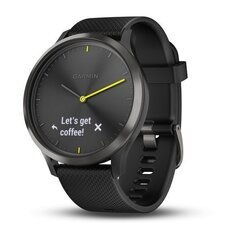 Garmin Vivomove HR, L, Black цена и информация | Смарт-часы (smartwatch) | 220.lv