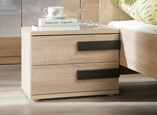 Ночной шкафчик Latis LTSK02, цвет дуба цена и информация | Комоды, ночные шкафчики | 220.lv