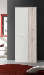 Skapis Net106 MS157, balts/ozola krāsa cena un informācija | Priekšnama skapji | 220.lv