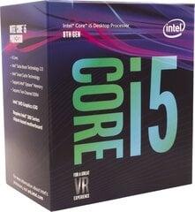 Intel Core i5-8600K, 3.60GHz, 9MB, BOX (BX80684I58600K) cena un informācija | Procesori (CPU) | 220.lv