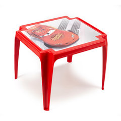 Bērnu āra galdiņš Disney, sarkans cena un informācija | Dārza mēbeles bērniem | 220.lv