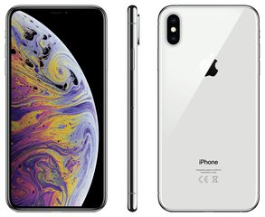 Apple iPhone Xs Max, 512 GB, sudraba