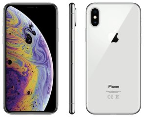 Apple iPhone Xs, 256 GB, sudraba