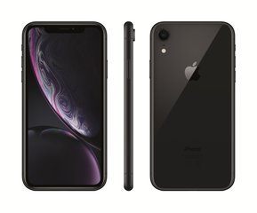 Apple iPhone XR, 128 GB, Melns
