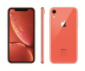 Apple iPhone XR, 128 GB, Koraļļu